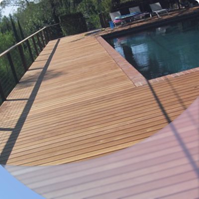 Deck made of wood best choice for home